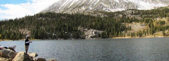Rock Creek Area in the Eastern Sierra