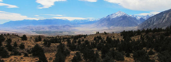 The Magnificient Owens Valley in California