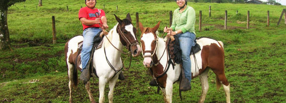Horse Riding and Zip Lining in Costa Rica