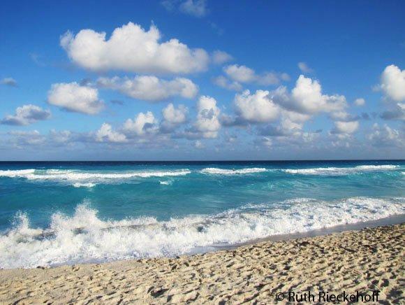 Playa Delfines (Dolphins Beach), Cancun Hotel Zone, Mexico - Tanama ...