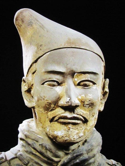 Terracotta Warriors Face Terracota Warrior Face