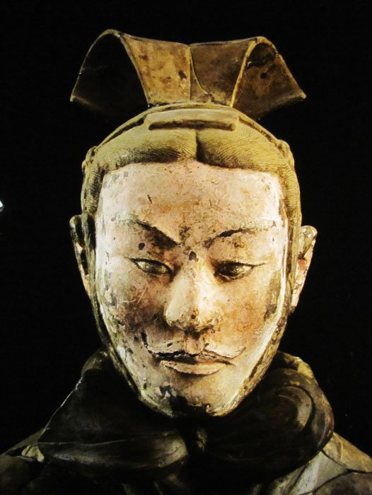 Terracotta Warriors Face Terracota Warrior Face Bowers