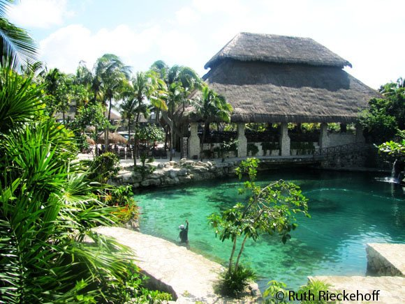 One of the lagoons