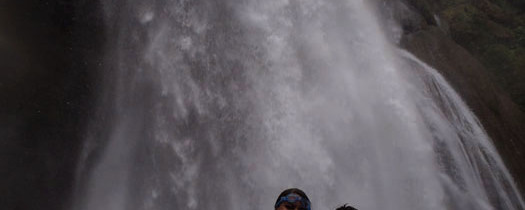 Taking the Plunge: Getting Under a Massive Waterfall