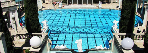 Hearst Castle: Pools and Views to Die For