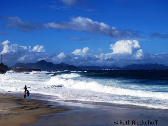 Arpoador Beach, Rio de Janeiro, Brazil