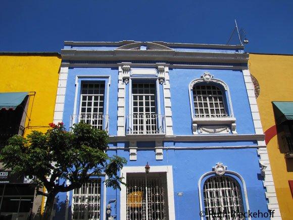 Colonial Buildings, Puebla, Mexico