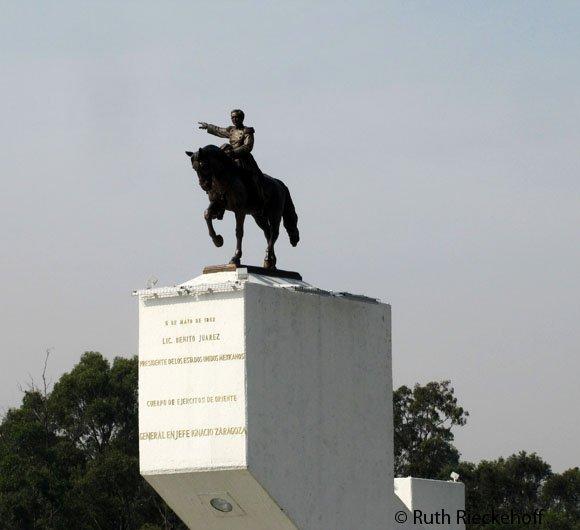 Monument to Ignacio Zaragoza, Puebla, Mexico