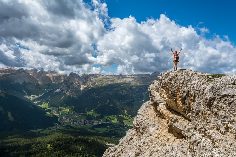 Person over Mountain, Break the Routine and Add Adventure to your Life