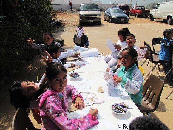 Kids, El Zorillo, Ensenada, Mexico