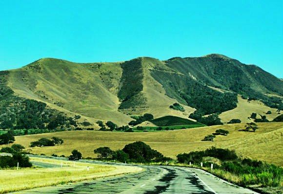 Route 246, Santa Inez Valley, California
