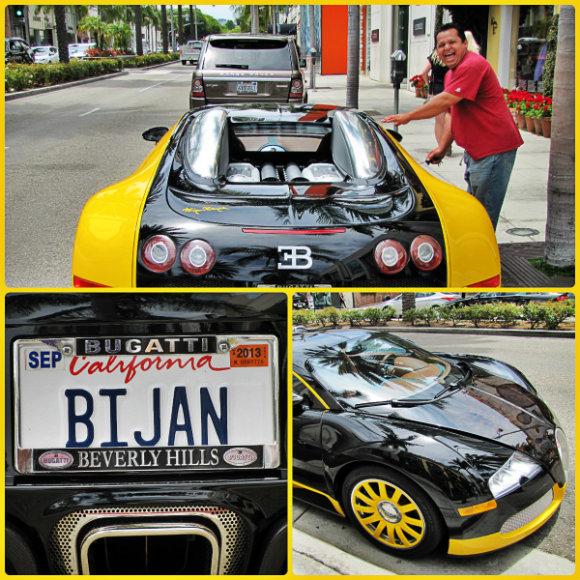 Bijan's Bugatti, Beverly Hills, California