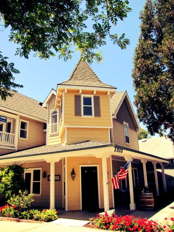 Victorian Structure, Los Olivos, California