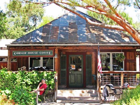Corner House Coffee, Los Olivos, California