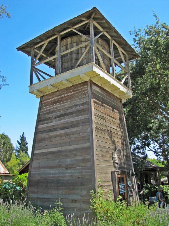 Water Tower, Los Olivos, California
