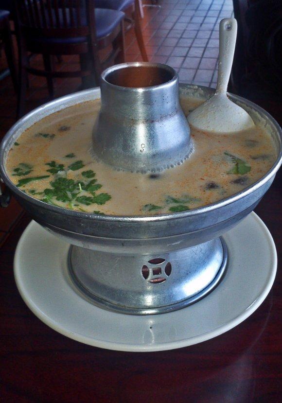 Tom Ka Soup, Crispy Pork Gang, Thai Town, Los Angeles, California