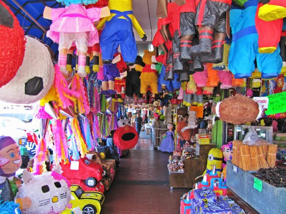 Piñatas, Mercado Hidalgo, Tijuana, Mexico