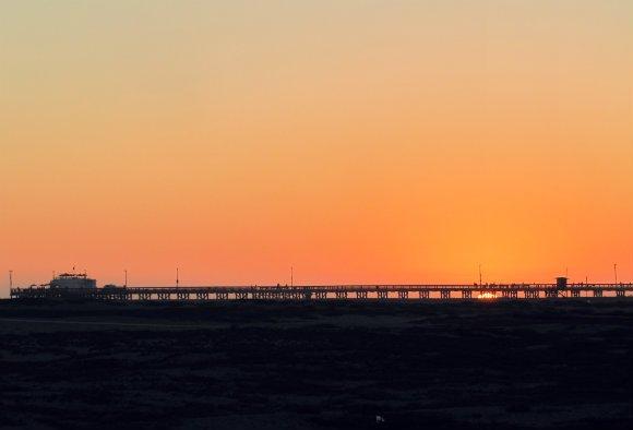Balboa Pier at Sunset, Newport Beach, California