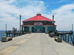 Ruby's Diner, Ruby;'s Diner in Pier, Red Roundhouse