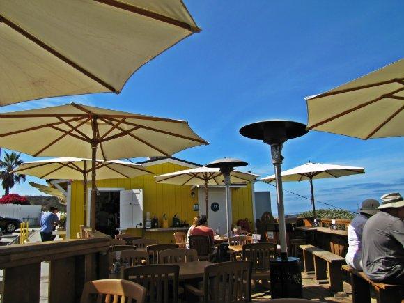 Shake Shack Outdoor Patio, Crystal Cove, Laguna Beach, California
