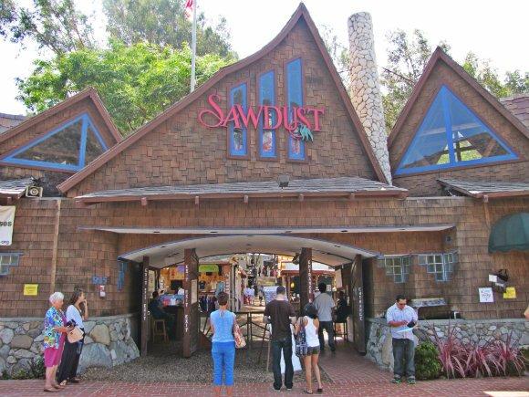 Sawdust Art Festival Entrance