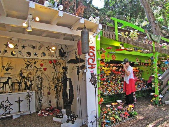 Creative booths, Sawdust Art Festival, Laguna Beach, California