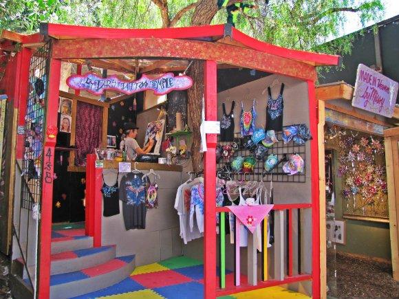 Whismical booth, Sawdust Art Festival, Laguna Beach, California