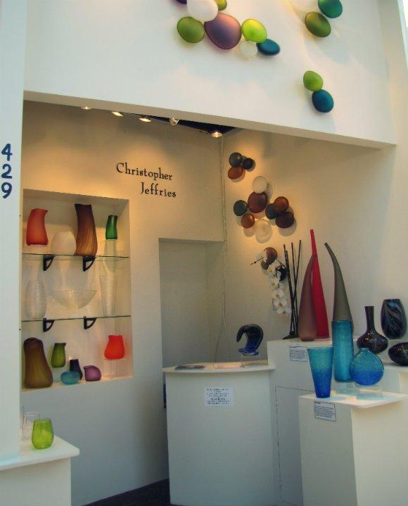 Innovative glass works, Sawdust Art Festival, Laguna Beach, California