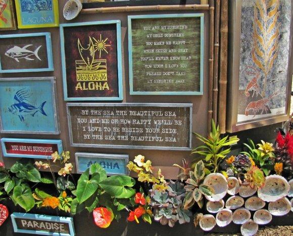 Good vibes booth, Sawdust Art Festival, Laguna Beach, California