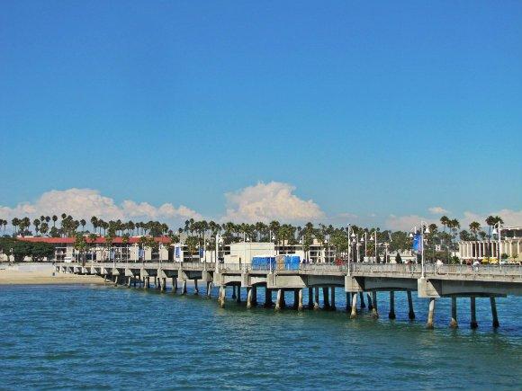 Belmont Veterans Memorial Pier, Long Beach, California
