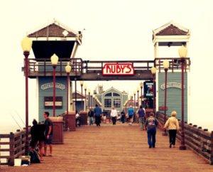 oceanside pier, ruby's dinner, ruby's dinner on pier