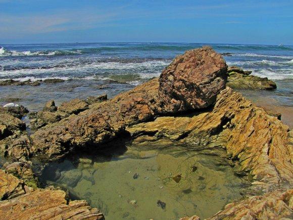 Scotchmans Cove, Crystal Cove State Park, Laguna Beach, California