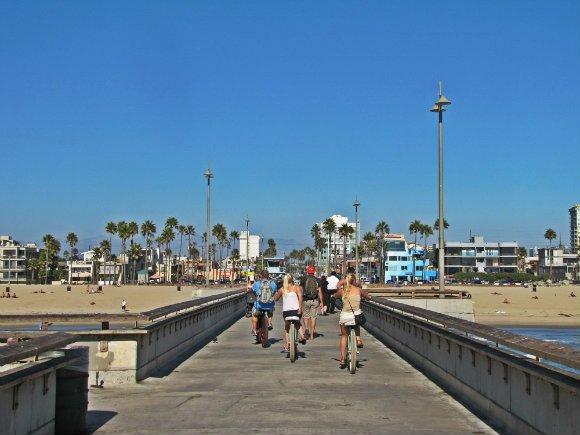 Venice Beach Pier, Venice Beach, California