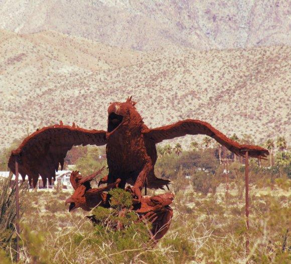 Eagle, Borrego Springs, California