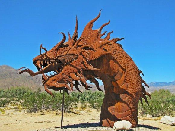 The Dragon, Borrego Springs, California