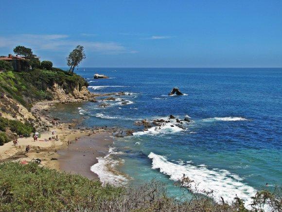 Inspiration Point, Little Corona del Mar, Newport Beach, California