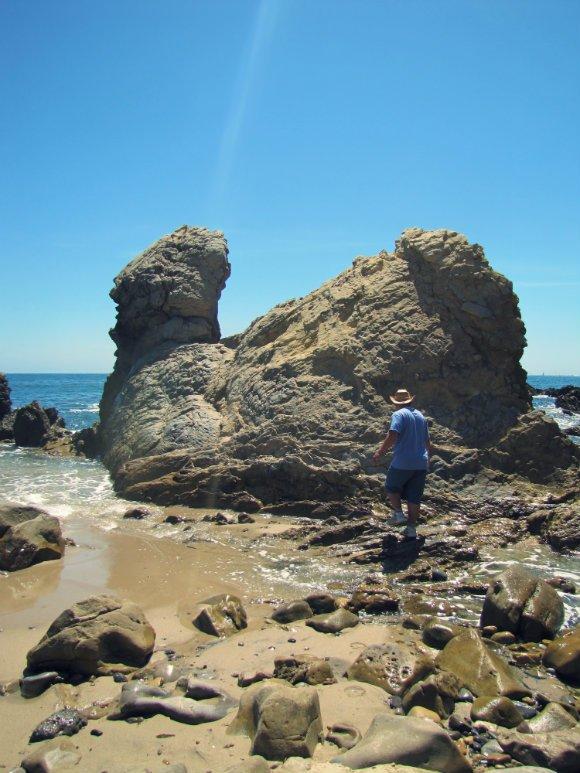Chicken Rock, Little Corona del Mar, Newport Beach, California