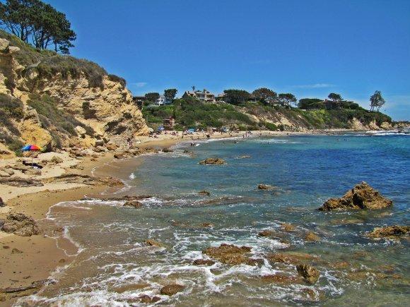 Little Corona del Mar, Newport Beach, California