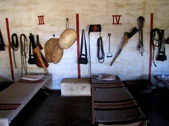 Room, La Purisima Mission, Lompoc, California