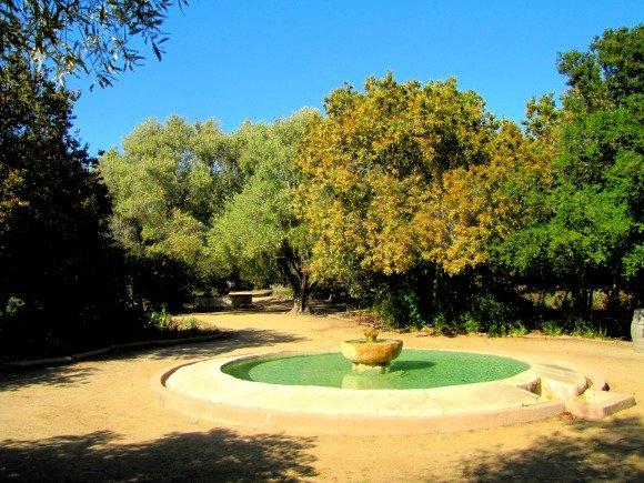 Fountain, La Purisima Mission, Lompoc, California