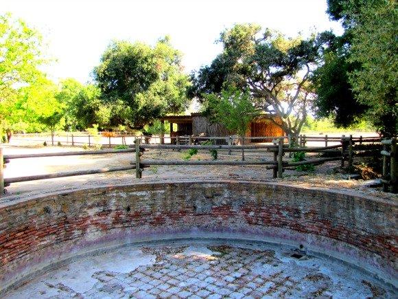 Water vat, La Purisima Mission, Lompoc, California