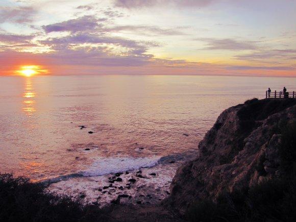 Sunset, Point Vicente, Palos Verdes Peninsula, Los Angeles, California