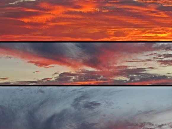 Clouds colors, Palos Verdes Peninsula, Los Angeles, California