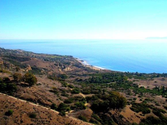 View from Del Cerro Park, Palos Verdes Peninsula, California