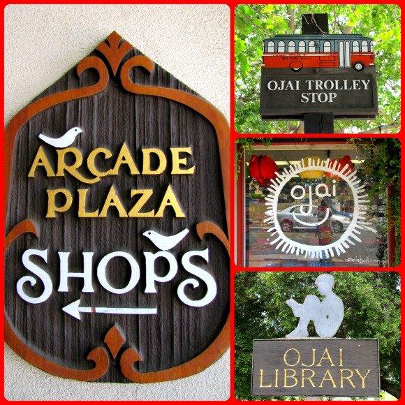 Signs, Ojai, California