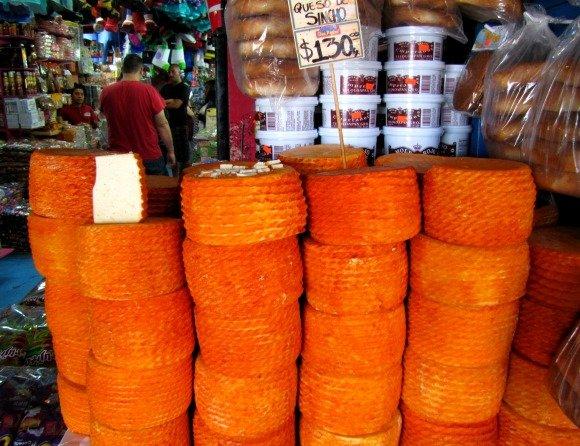 Cheese, Mercado Hidalgo, Tijuana, Mexico