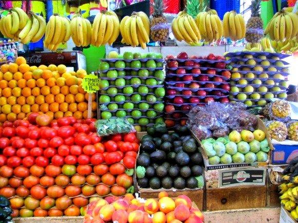 Fruit, Mercado Hidalgo, Tijuana, Mexico