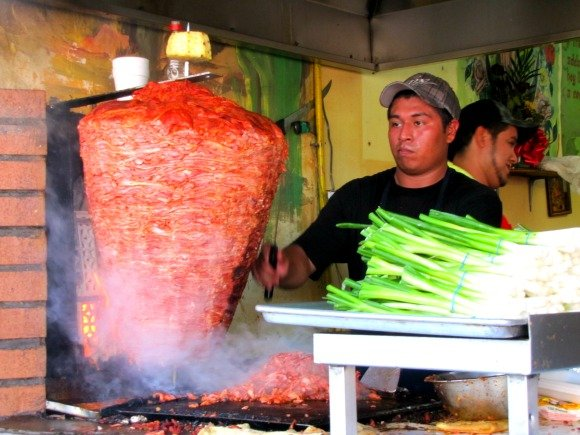 Adobada Tacos, Mercado El Popo Tijuana, Mexico
