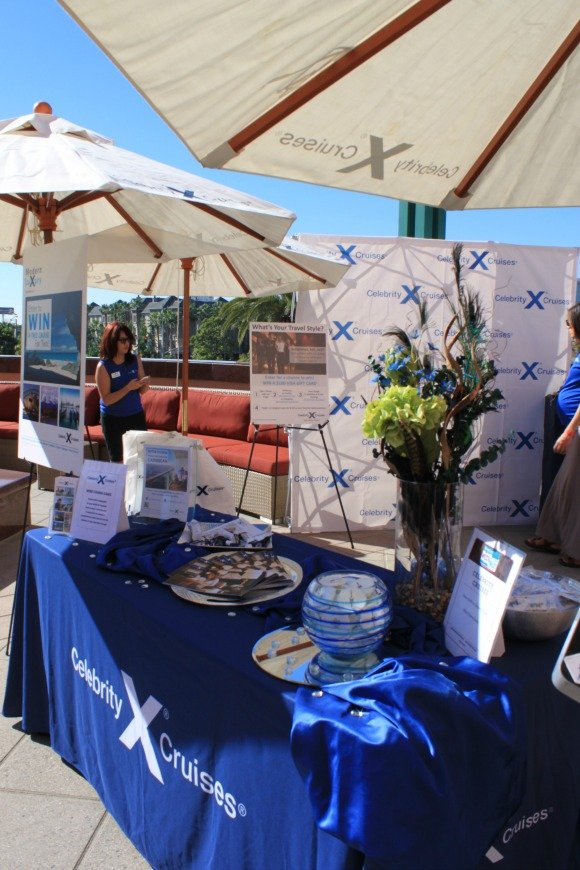 Celebrity Cruises Booth, West of West Festival, Anaheim, California