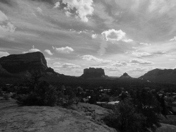 Views from the Chapel Road of the Holy Cross, Sedona, Arizona
